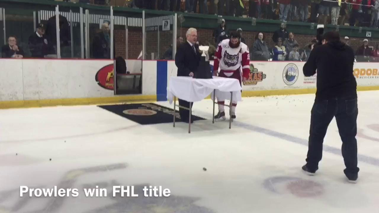 The Port Huron Prowlers won the FHL championship in front of a packed house at McMorran Arena.
