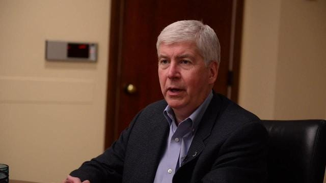 Gov. Rick Snyder talks charges in Flint water crisis