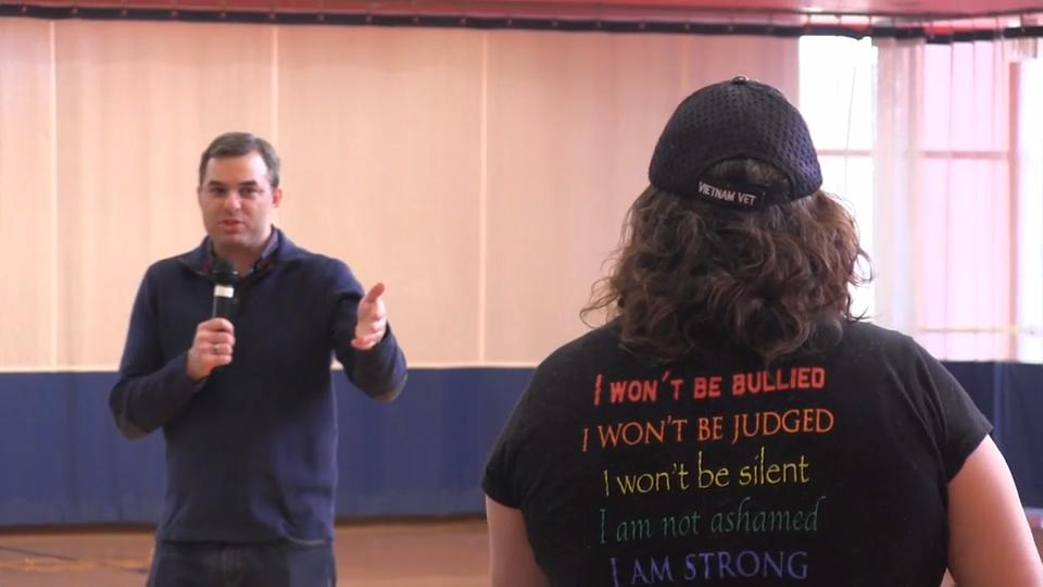 Rep. Justin Amash answered questions during a town hall event at Battle Creek's Full Blast Feb. 23. Here are just a few of them.