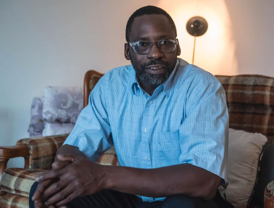 Kalamazoo resident Samuel Hunter discusses his life in and out of prison with Battle Creek Enquirer reporter Dillon Davis. Hunter, 48, was released from prison two years ago and now is a team leader at Portage-based Bowers Manufacturing.