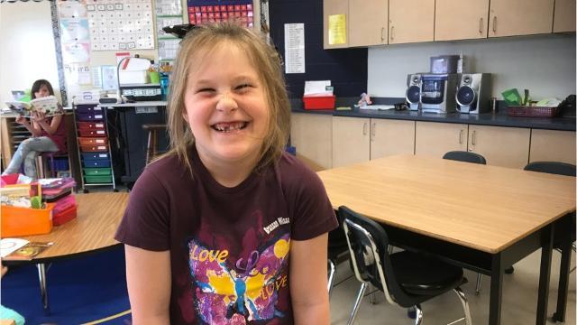 Walters Elementary School teacher Marcie Hydrick has found a way to keep her energetic first graders focused on their school work.