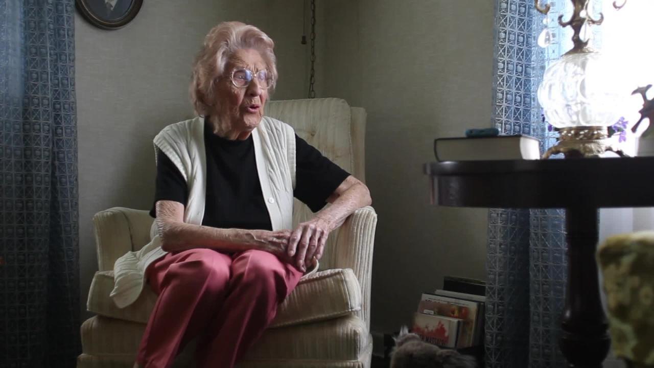 Irene Dunham, 109, talks about worst school bombing in U.S. history