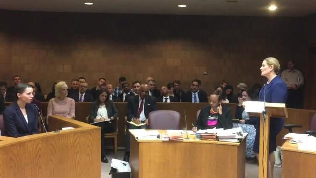 Former gymnast testifies during Nassar hearing
