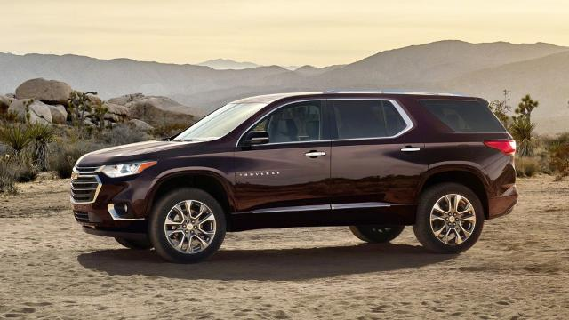 Review Chevrolet Traverse Is A Pricey But Impressive Suv