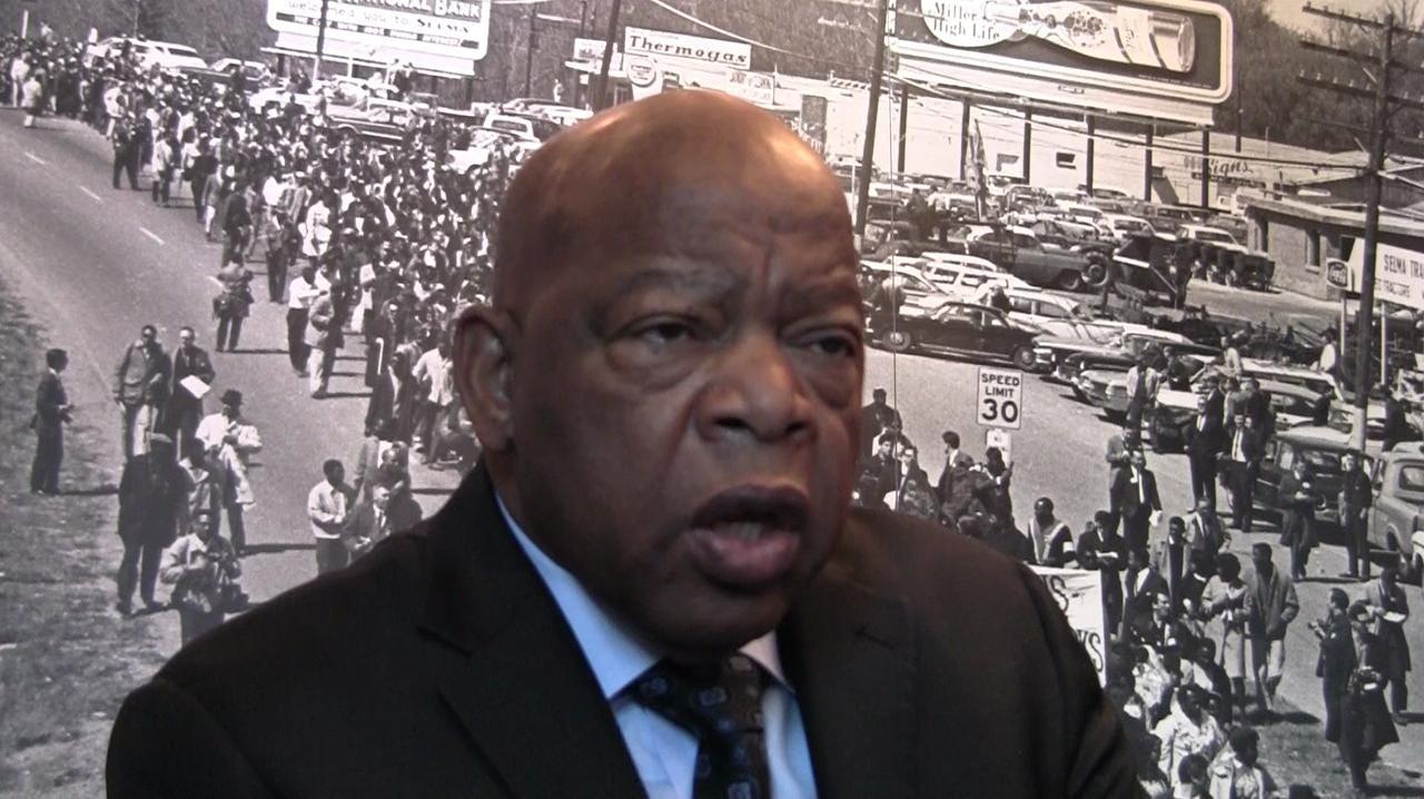U.S. Rep. John Lewis on beatings and forgiveness