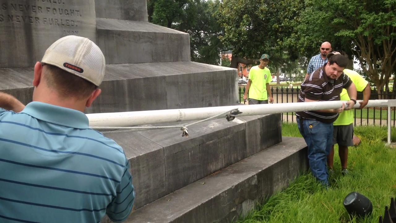 Confederate flags removed from State Capitol