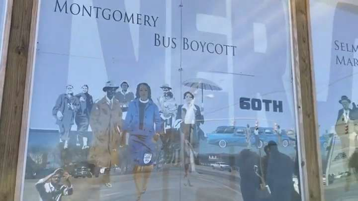 Bill Ford Jr. Bus Boycott Mural Unveiled