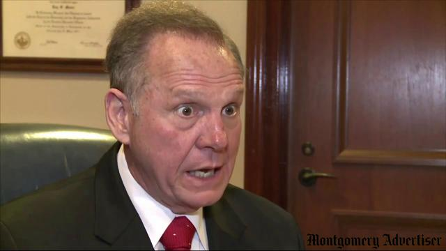 File video: Roy Moore suspended