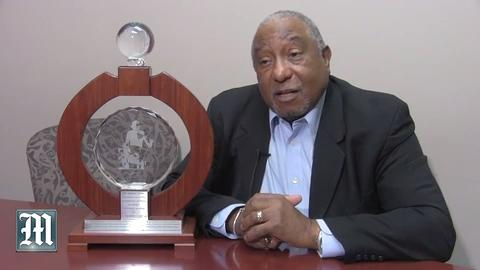 LaFayette presented with Gandhi award