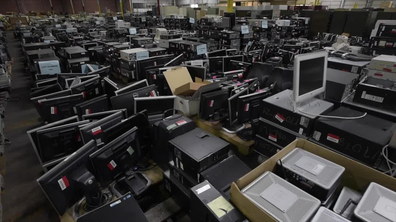 State Surplus Auction held at ADECA Warehouse