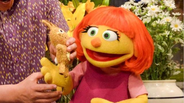 Sesame Street's newest Muppet has autism