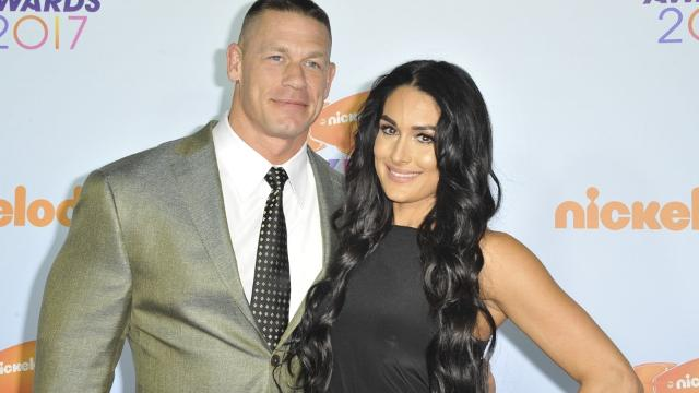 Nikki Bella And John Cena Strip Nude For Social Media Milestone