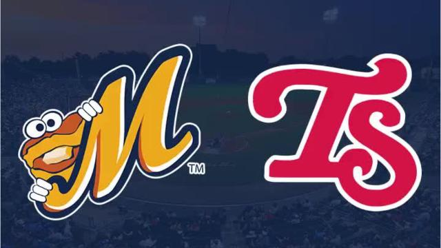 Biscuits burn Smokies 8-3
