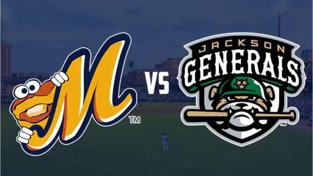 Biscuits take doubleheader from Generals