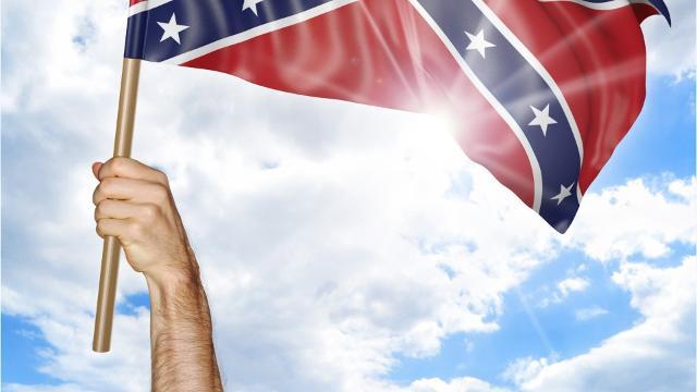 California Confederate battle flag ban excludes individuals