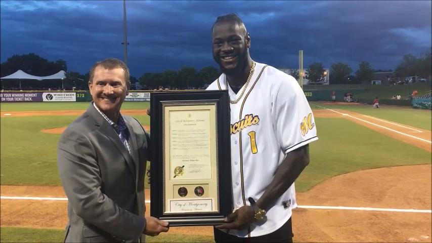 'Deontay Wilder Day' in Montgomery
