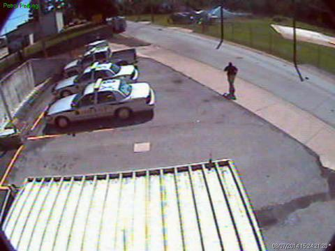 BCSO video of car striking helicopters