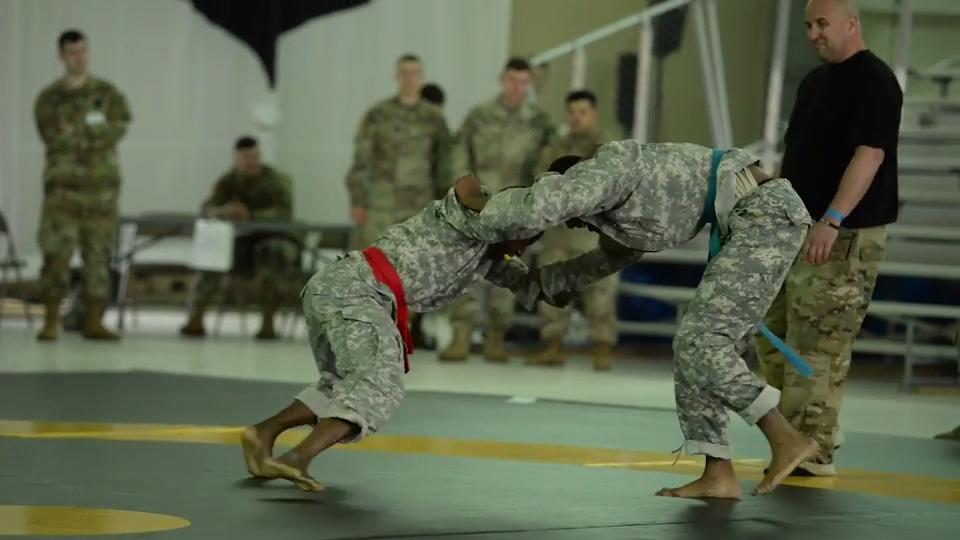 Part of Fort Campbell's Week of the Eagles events this week includes a multi-day Combatives Tournament, where soldiers can compete and advance their fighting skills.