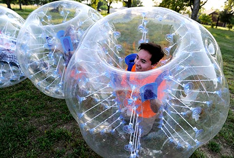 Bubble Soccer Comes to Nashville