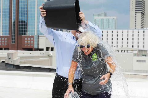 Ms. Cheap takes the ALS Ice Bucket Challenge