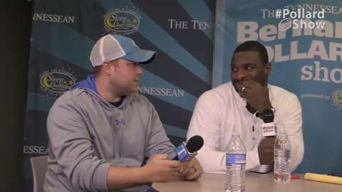 """Final episode: In our final segment of the 2014 Bernard Pollard Show, we look back at the 2014 Titans season, what's next for Pollard, trivia and a segment called """"BP says."""""""