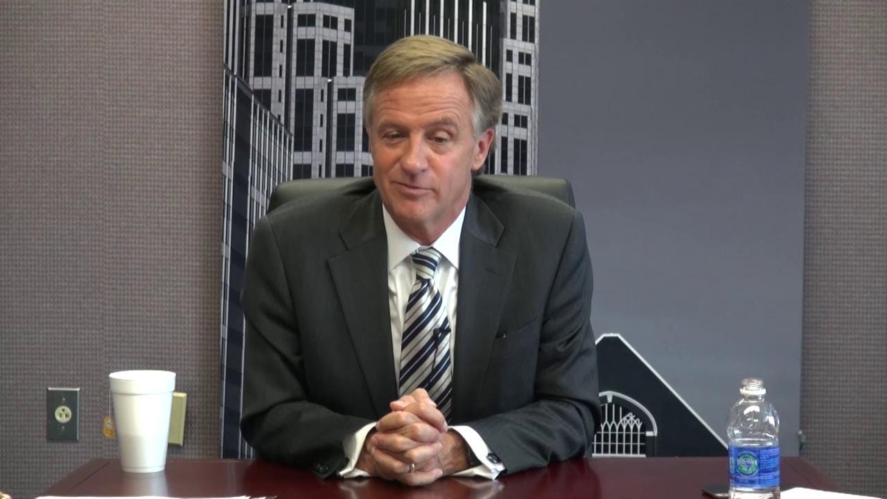 Gov. Bill Haslam talks about Jeremy Durham