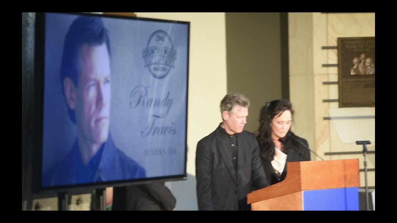 Randy Travis to join Country Music Hall of Fame