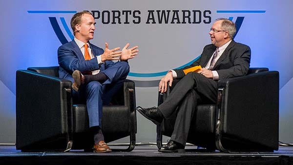 Peyton Manning's advice for high school athletes