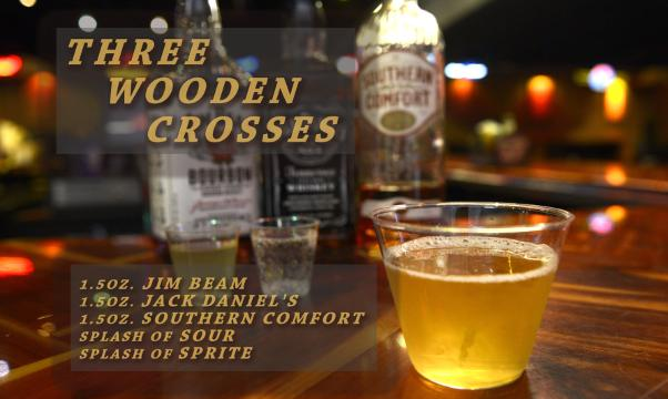 Nashville Palace's specialty cocktail Three Wooden Crosses