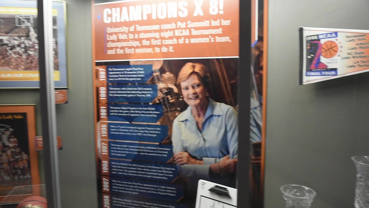 The Tennessee Sports Hall of Fame remembers Pat Summitt