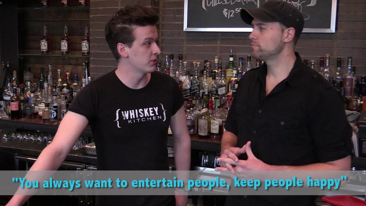 Whiskey Kitchen bartender on singing and absinthe