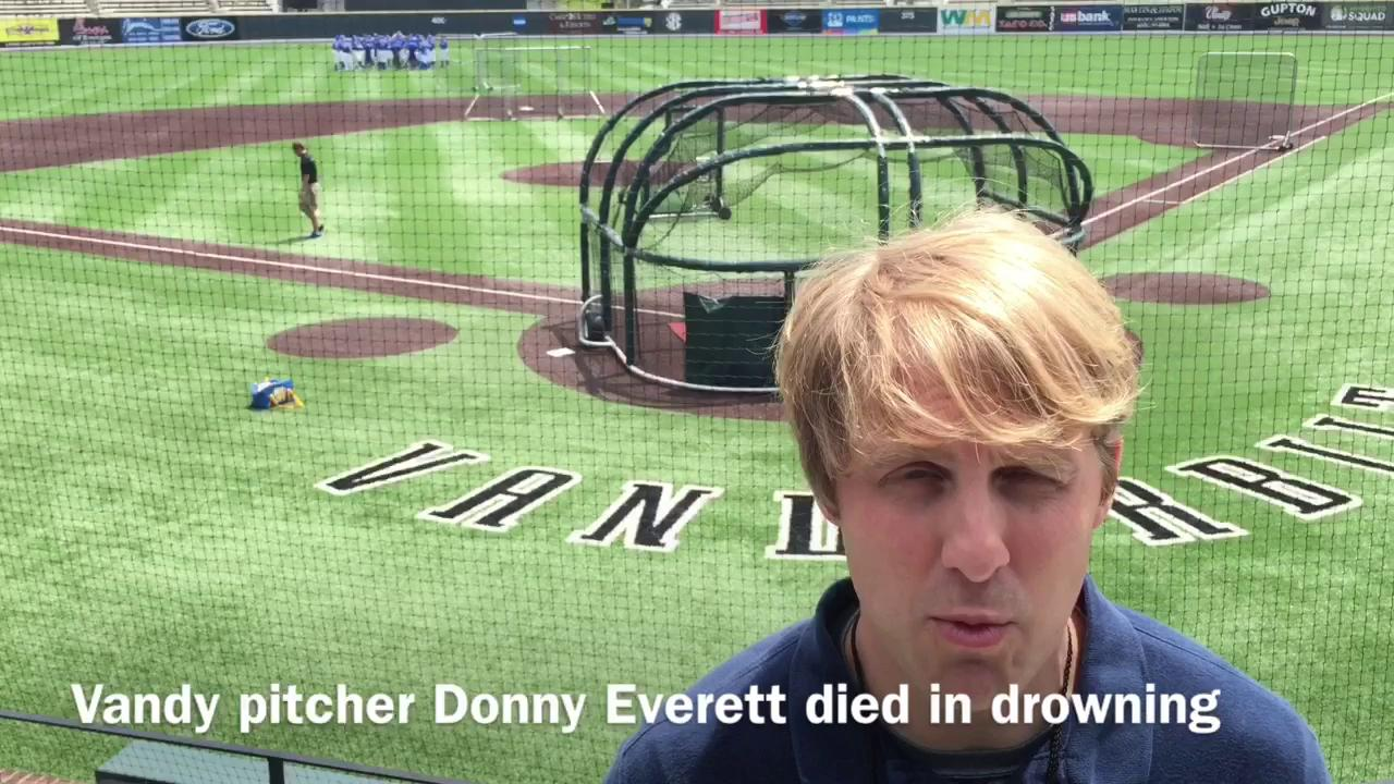 Vanderbilt pitcher Donny Everett, 19, dies in drowning