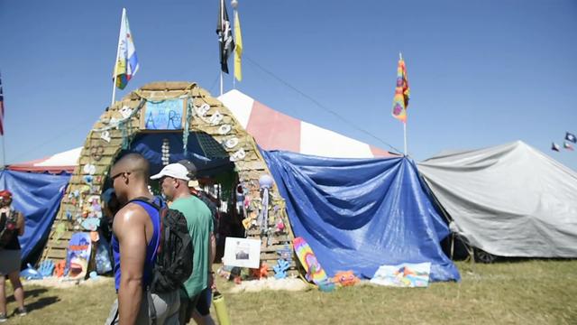'Soopergroop' campsite brings people together