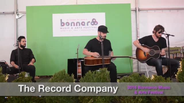 Bonnaroo 2016: The Record Company
