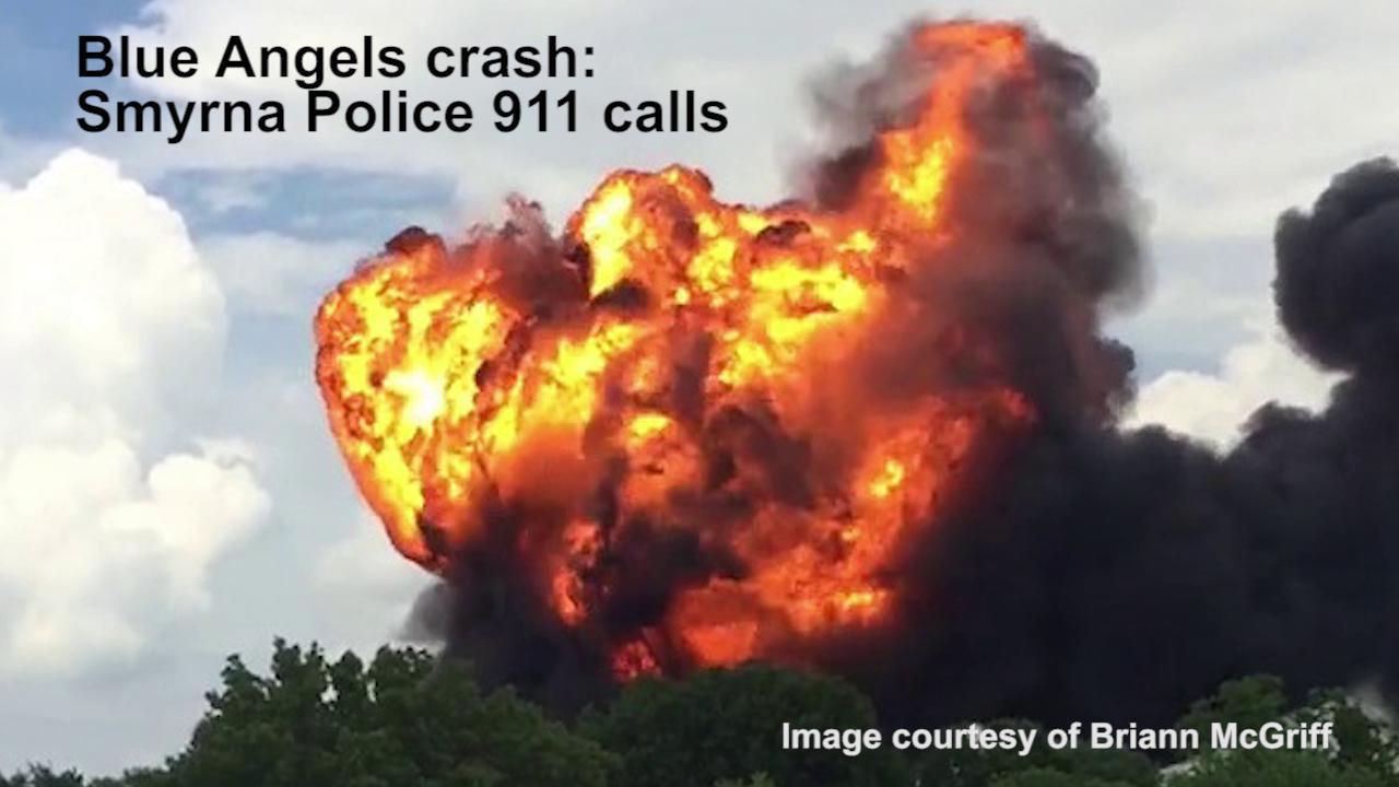 Listen to the Blue Angels crash 911 calls