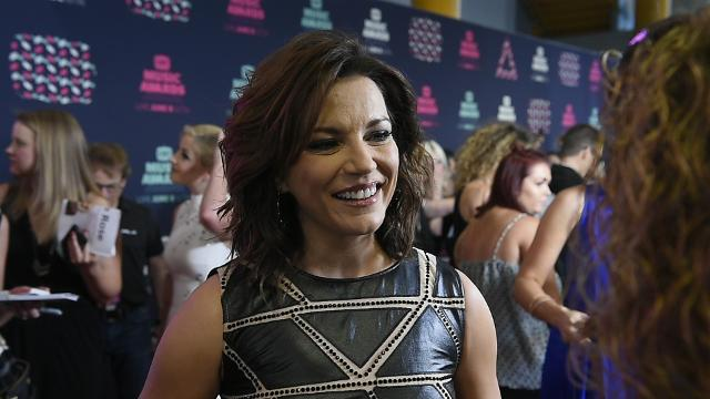 Martina McBride on her new music video released during 2016 CMT Awards
