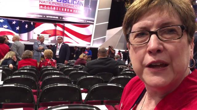 Patsy Lundy, a Maryville Republican, talks about what she wants to hear from Donald Trump.