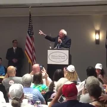 2016 DNC: Bernie Sanders speaking at delegates breakfast.mp4