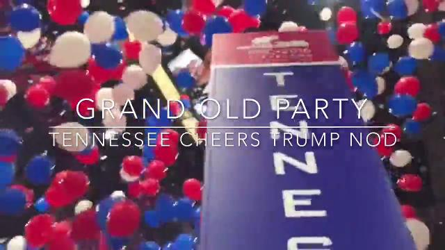 Tennessee delegates celebrate Trump's presidential nomination