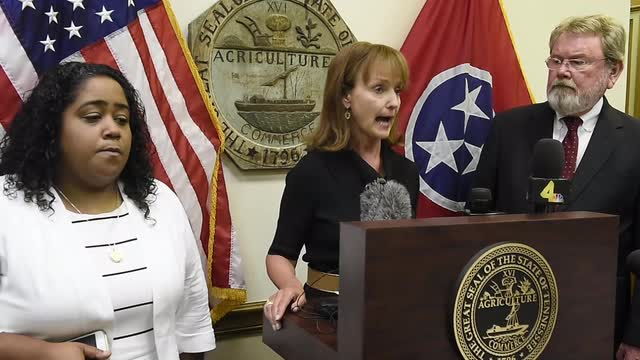 Speaker Harwell reacts to Durham report