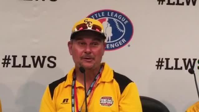 Goodlettsville Little League coach Joey Hale on Robert Carroll