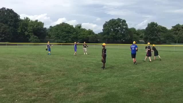 Goodlettsville players loosen up prior to pratice