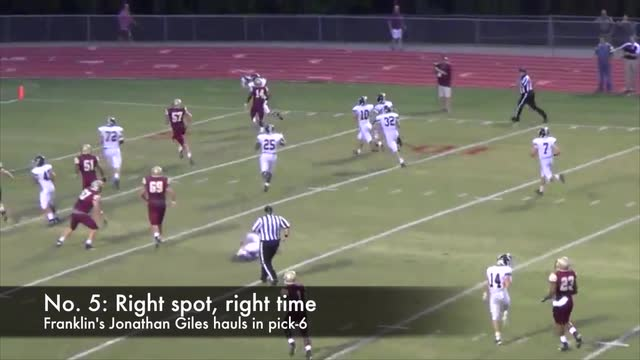 Top high school football plays for Week 2