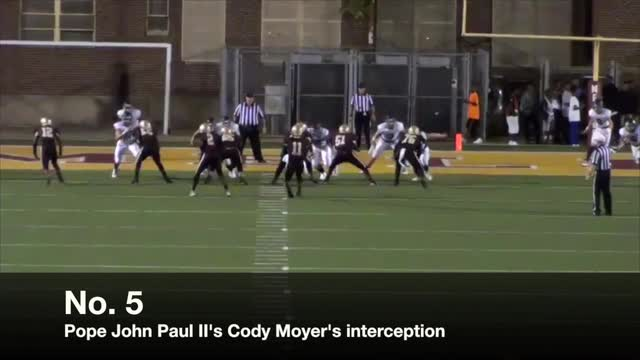 Video: High school football plays of Week 1