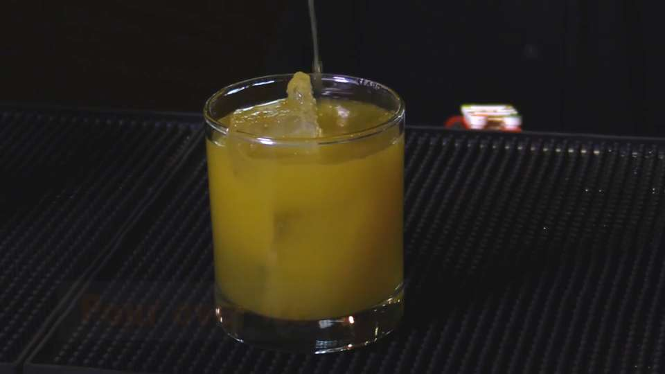 What's in Sinema's craft cocktail Mango Unchained?