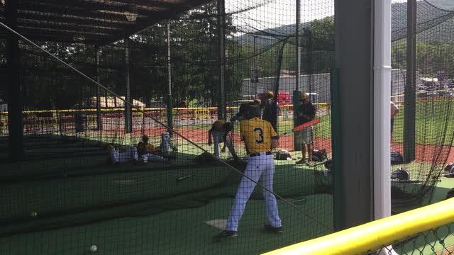 Goodlettsville Little League batting practice