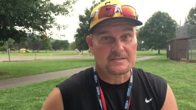 Goodlettsville manager Joey Hale after practice Aug. 16, 2016