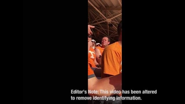 Jeremy Durham hits Florida fan, gets tossed out of UT game