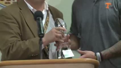 Outback Bowl MVP Jalen Hurd's press conference