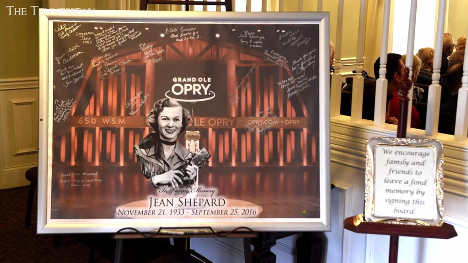 Opry legend Jean Shepard laid to rest